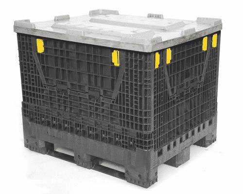 conteneur plastique avec couvercle