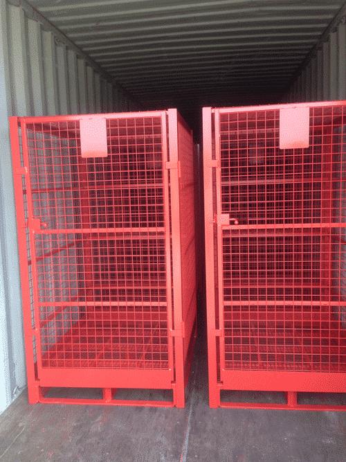 container de stockage grillagé sur-mesure