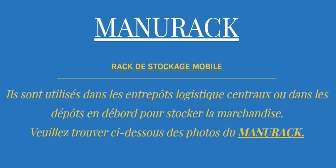 Location manuracks Ner-France
